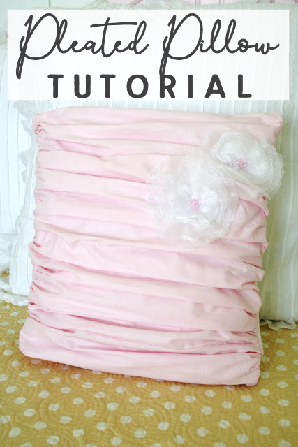 Pleated Pillow Sewing Tutorial for Beginners | DIY Throw Pillows