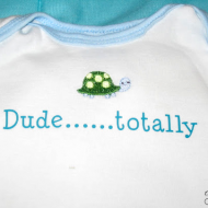 Custom Onesies {New Baby Gift}