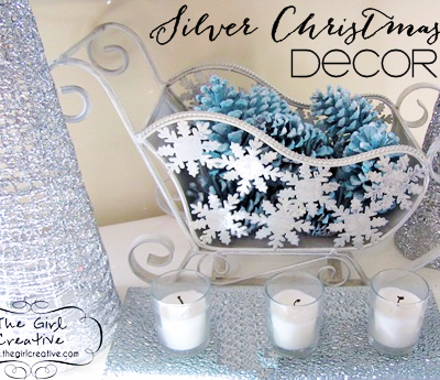 Silver Christmas Decor