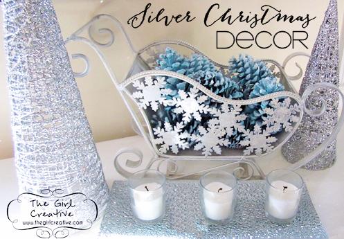 Silver Christmas Decor