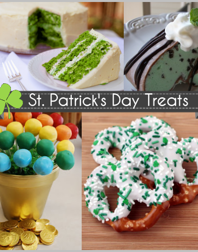 St. Patty's Day Desserts