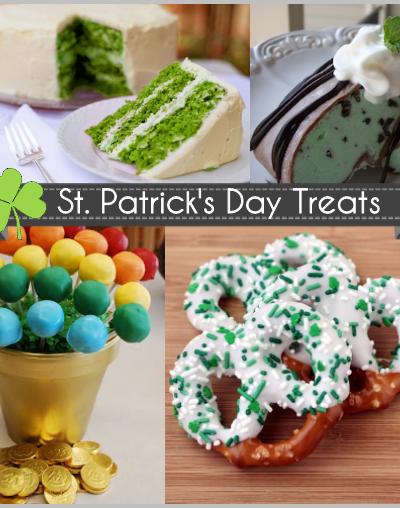 St. Patty's Day Desserts