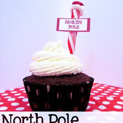 {North Pole Cupcakes}