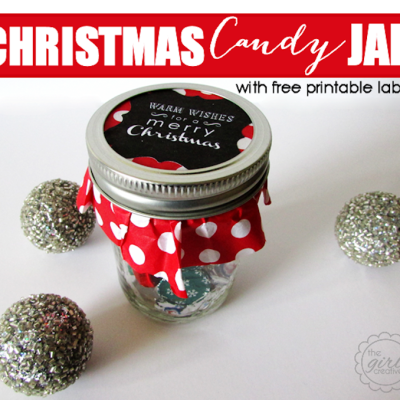 Christmas Candy Jar
