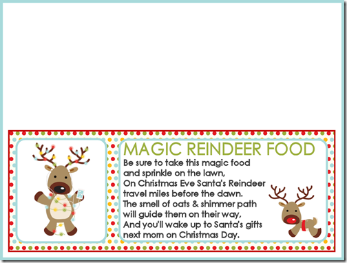 "Search Results for ""Reindeer Food Labels Free Printables ..."
