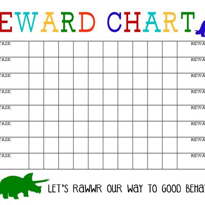 Printable Reward Chart