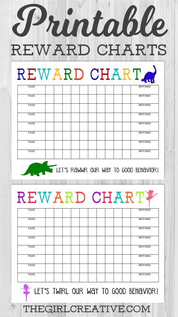 Printable Reward Chart | Behavior Charts for Kids | Free Printable Star Chart