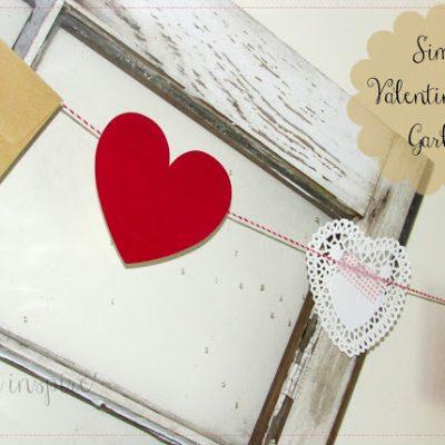 Simple Valentine's Day Banner