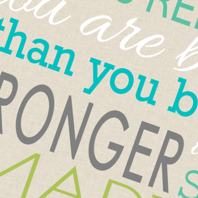 You Are Braver Printable