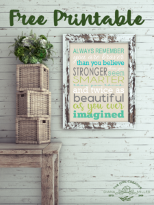 You are Braver Word Art - Winnie the Pooh Quote You are Braver