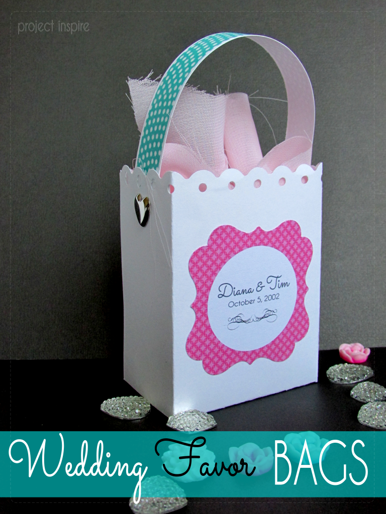 DIY Wedding Favor Box Bags