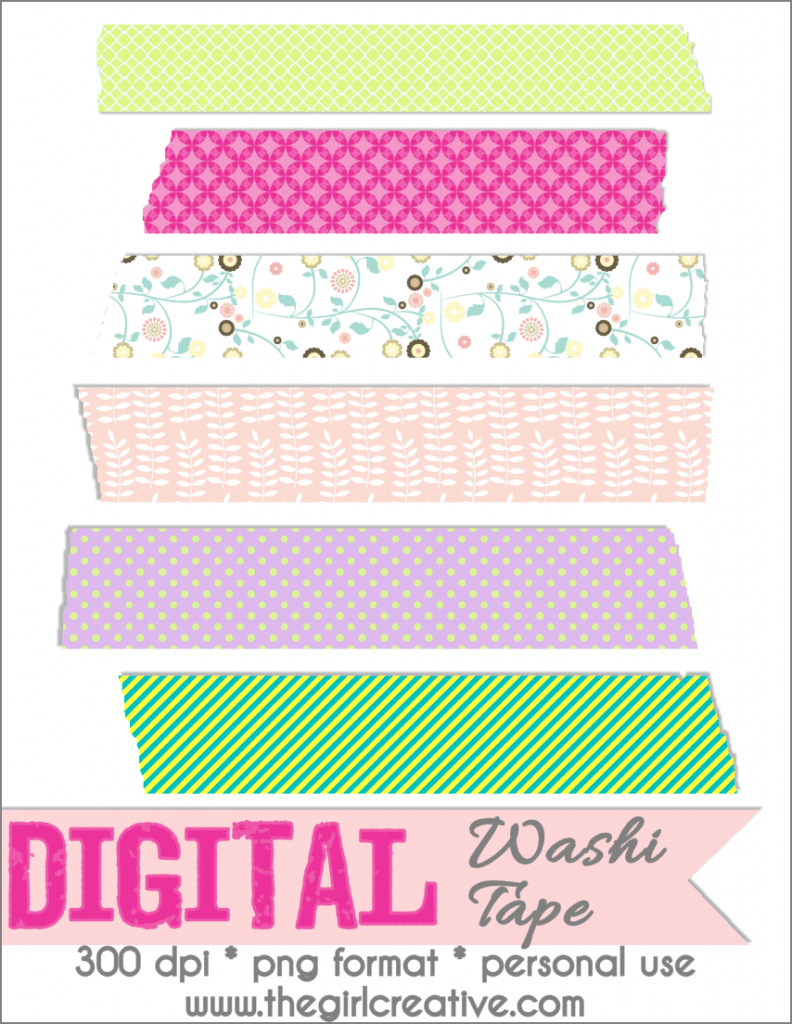 Washi Tape Download
