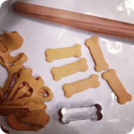 Homemade Dog Biscuits with Recipe