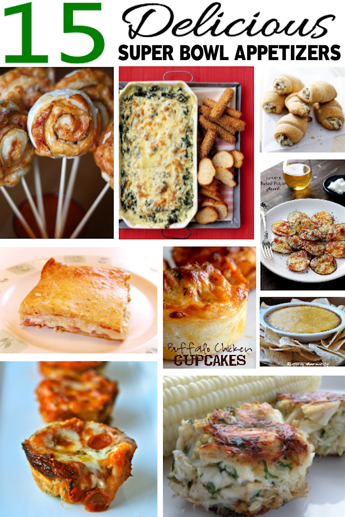 15 delicious super bowl appetizers and dips the girl for Super bowl appetizers pinterest