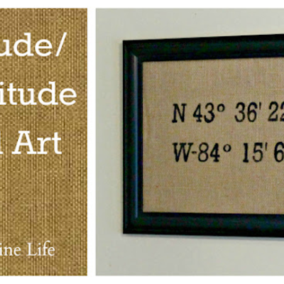 Latitude-Longitude Wall Art