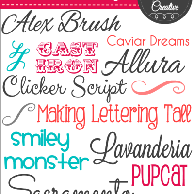 Free Fonts, Fonts and More Fonts