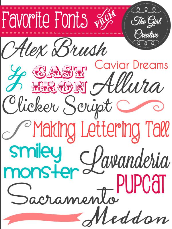 fonts fonts and more fonts