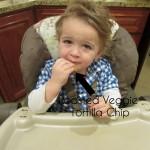 Kids Eating Green Giant Veggie Chips