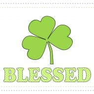 St. Patrick's Day Sign- Blessed