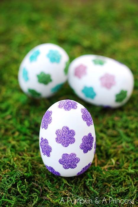 easter eggs-flowerglitter