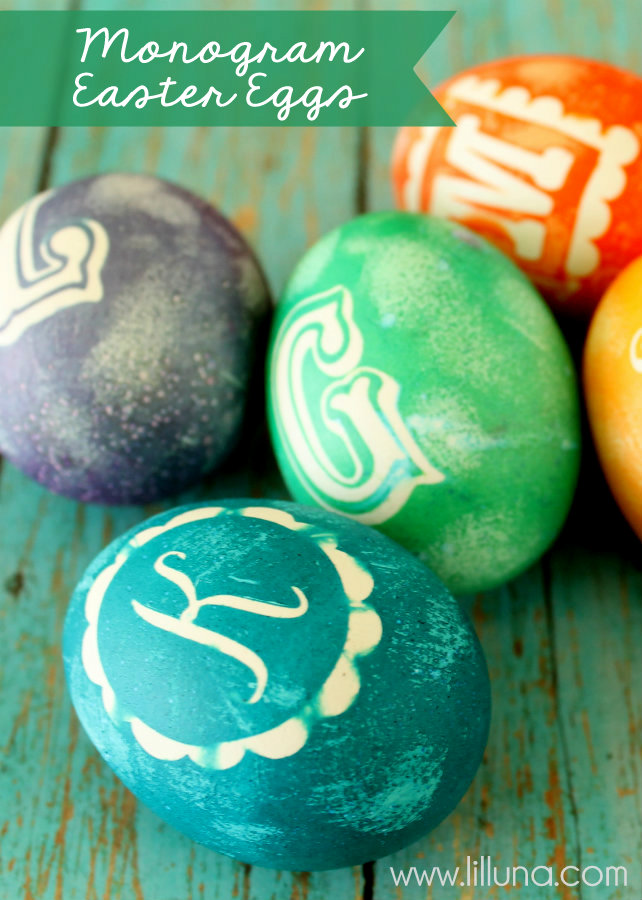 easter eggs-monogram