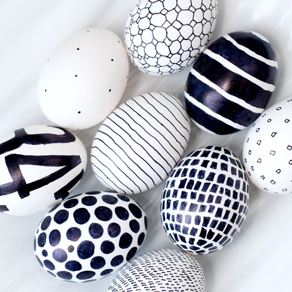 easter eggs-sharpie