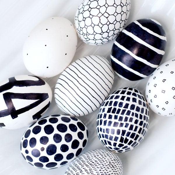 easter eggs-sharpie