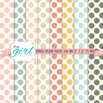 Printable Scrapbook Papers