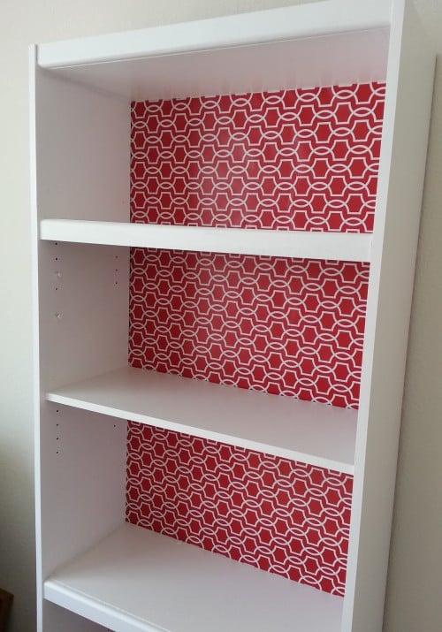 Laminate Bookcase Makeover