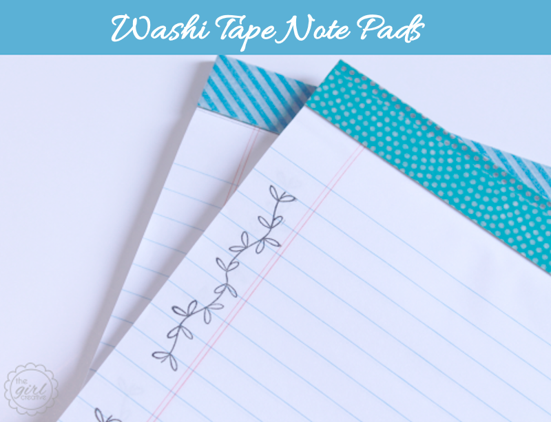 Washi Tape Note Pads