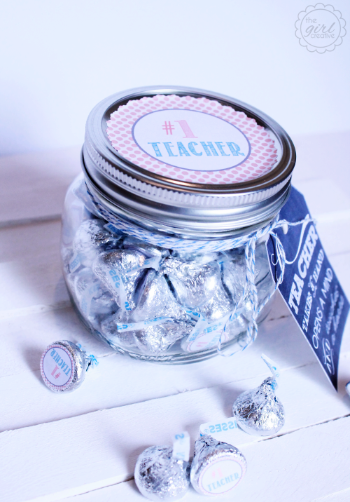 teacher appreciation gift jar