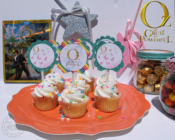 Oz the Great and Powerful Cupcakes