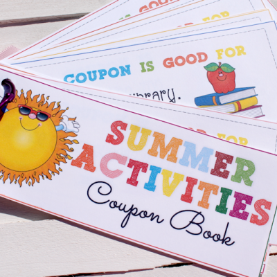 Printable Summer Activities Coupon Book