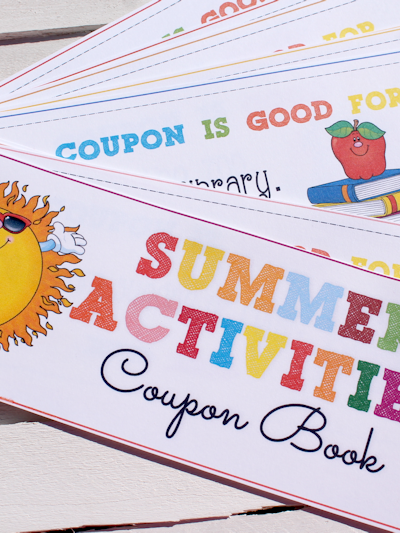 Printable Summer Coupon Book