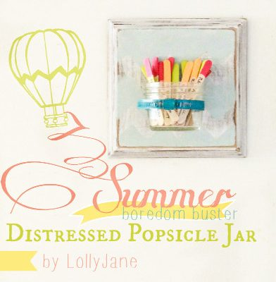 Summer Boredom Buster Jar {create memories with kids}