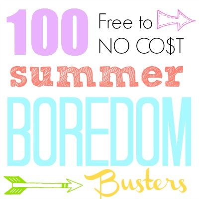 100-Summer-Boredom-Busters