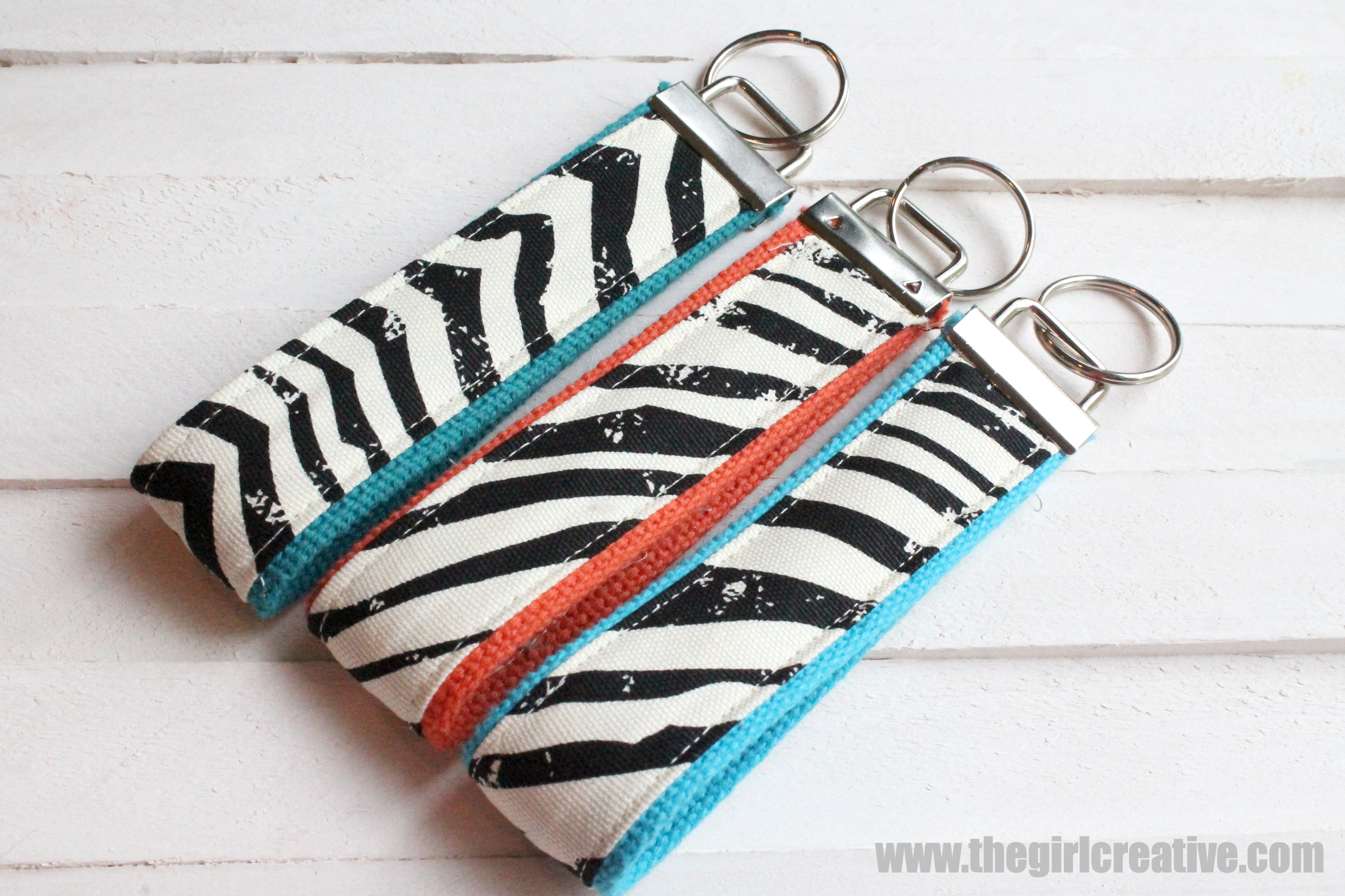 DIY Key Wristlet with Michaels Fabric