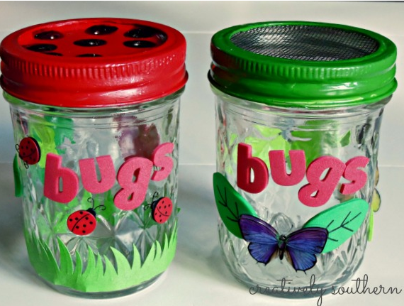 Lightning+Bug+Craft DIY Lightning Bug Jar Craft - The Girl Creative