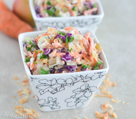 coconut cole slaw