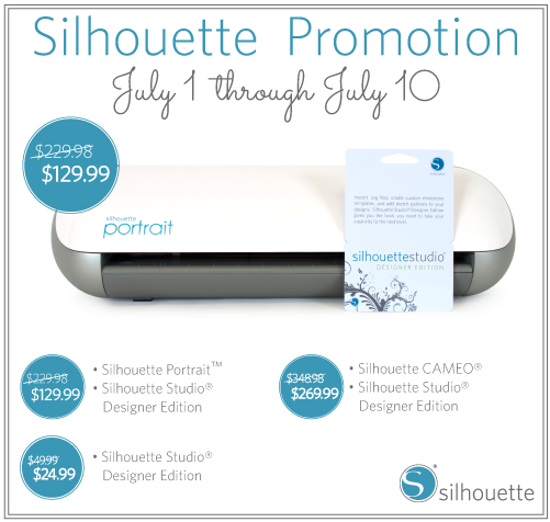 July Silhouette Promo