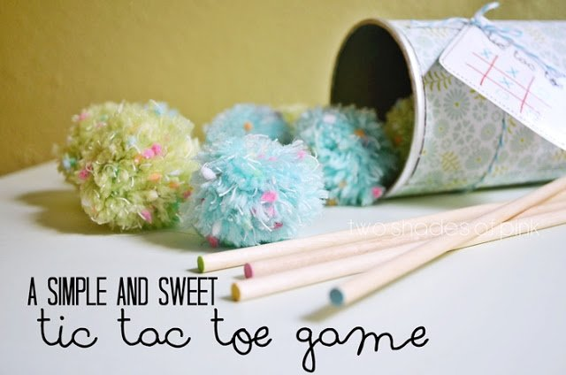 DIY Tic Tac Toe Game {Create Memories with Kids}