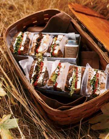 vegetarian bit sandwich