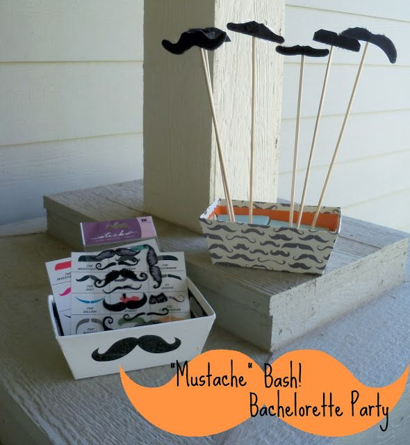 Mustache Bachelorette Party