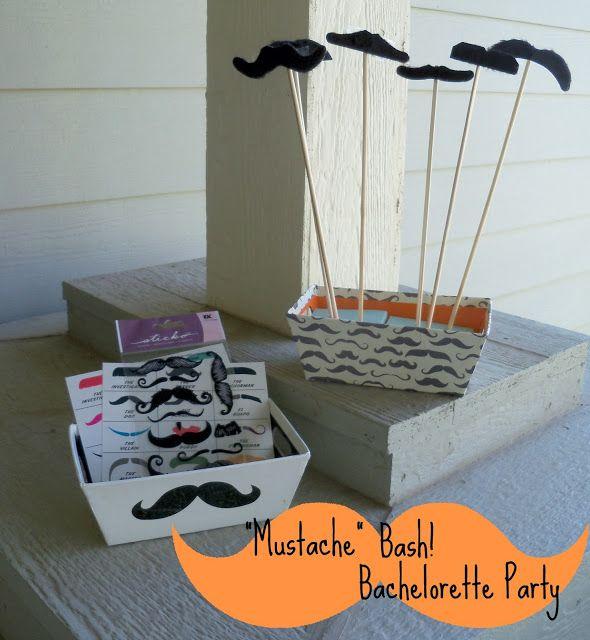 Mustache Bachelorette Party