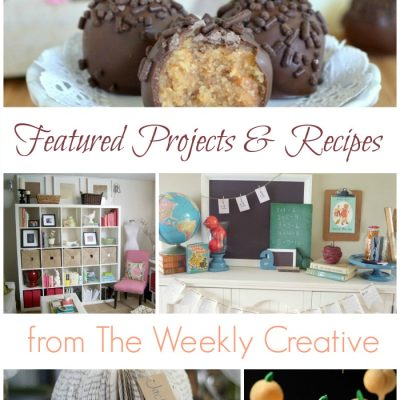 21 Great Ideas from The Weekly Creative {Party Features}