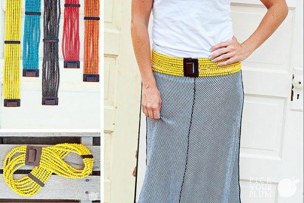 pyp - beaded belts