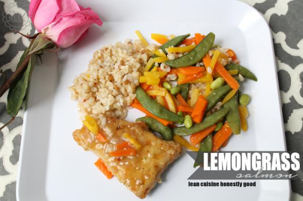 Lean Cuisine Lemongrass Salmon