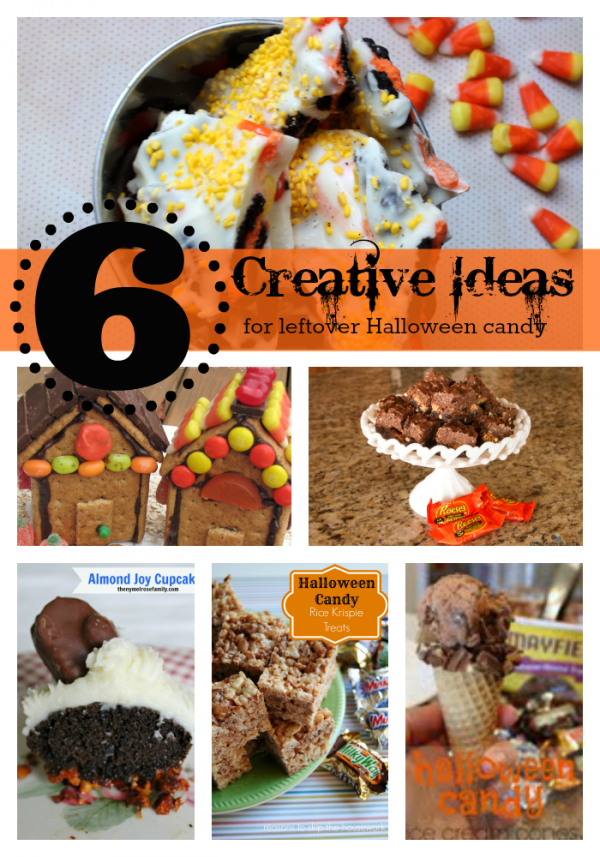 6 Ways to use leftover halloween candy