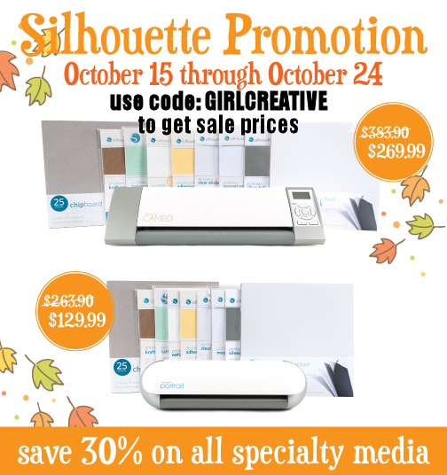 Silhoutte October Promotion