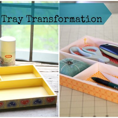 Simple Wooden Tray Transformation